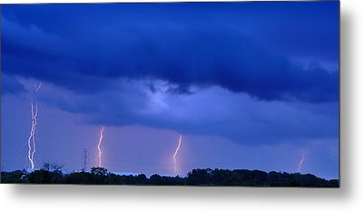 The Approching Storm Metal Print