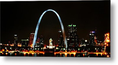 The Arch Metal Print by Anthony Jones