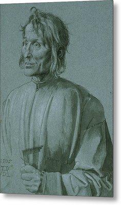 The Architect Hieronymus Von Augsburg Metal Print
