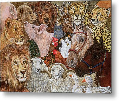 The Ark Spread Metal Print by Ditz