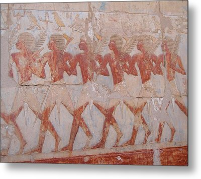 The Army Of Hatshepsut Metal Print by Richard Deurer