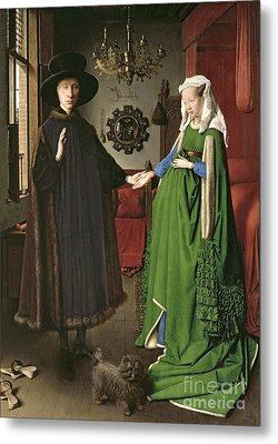 The Arnolfini Marriage Metal Print