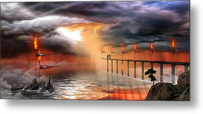Metal Print featuring the photograph The Arrival by Anthony Citro