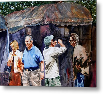The Art Festival Metal Print by Ron Stephens