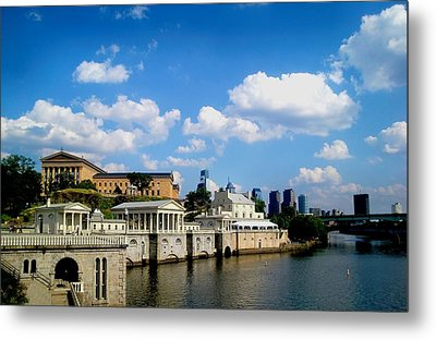 The Art Museum Metal Print by Andrew Dinh