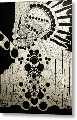 The Art Of Abstraction Metal Print by Michael Kulick