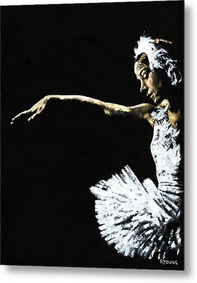 The Art Of Grace Metal Print by Richard Young