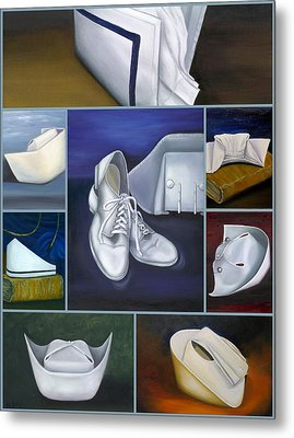 The Art Of Nursing Metal Print by Marlyn Boyd