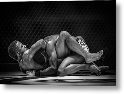 The Art Of The Fight Metal Print