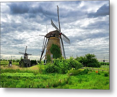 The Art Of Windmills  Metal Print by Lanis Rossi