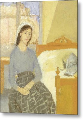 The Artist In Her Room In Paris Metal Print by Gwen John
