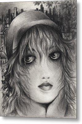 The Artist Metal Print by Rachel Christine Nowicki