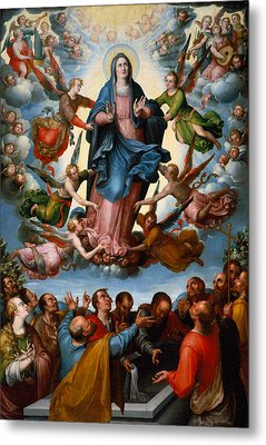 The Assumption Of The Virgin Metal Print by Mountain Dreams