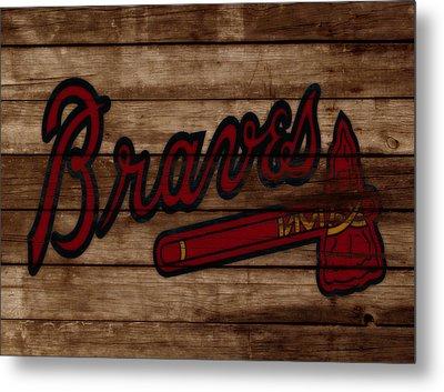 The Atlanta Braves 3b     Metal Print
