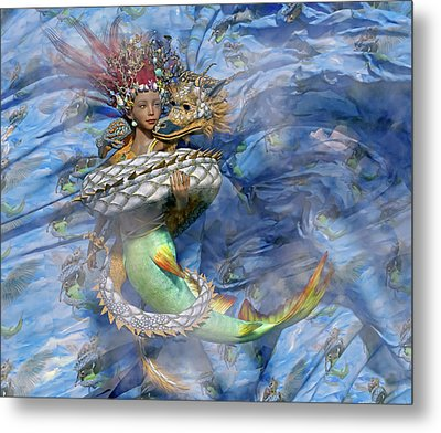The Balance Of Peace And War Metal Print by Betsy Knapp