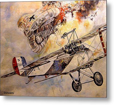 The Balloon Buster Metal Print by Marc Stewart