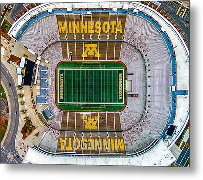 The Bank Metal Print by Mark Goodman