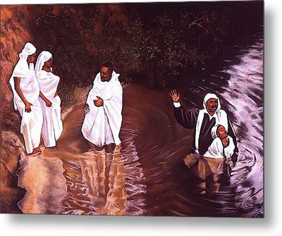 The Baptism Metal Print by Curtis James
