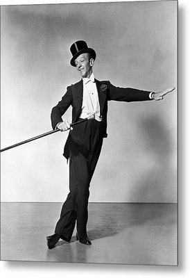 The Barkleys Of Broadway,  Fred Metal Print by Everett