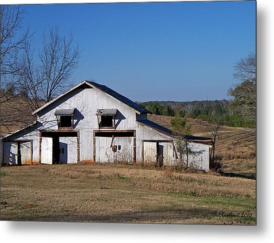 Metal Print featuring the photograph The Barn by Betty Northcutt