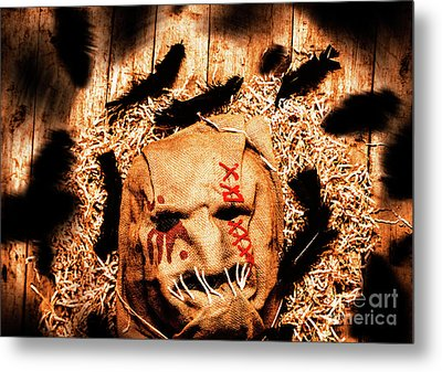 The Barn Monster Metal Print by Jorgo Photography - Wall Art Gallery