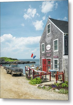 The Barnacle Monhegan Metal Print