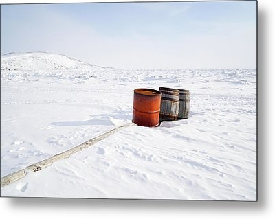 The Barrels Metal Print by Nick Mares