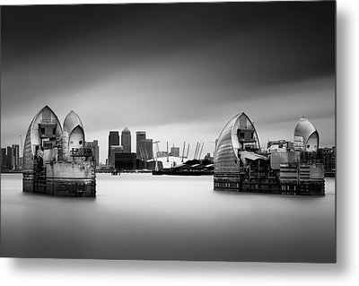 The Barrier Metal Print by Ivo Kerssemakers