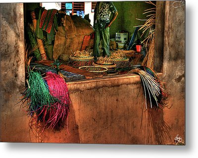 The Basket Cooperative Metal Print