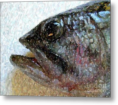 The Bass Metal Print by Carol Grimes