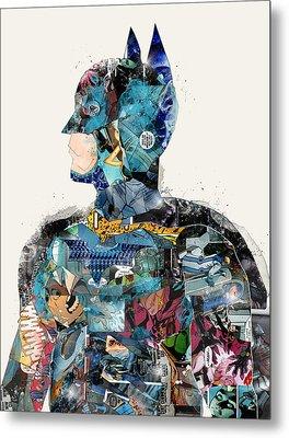 The Batman Metal Print by Bri B