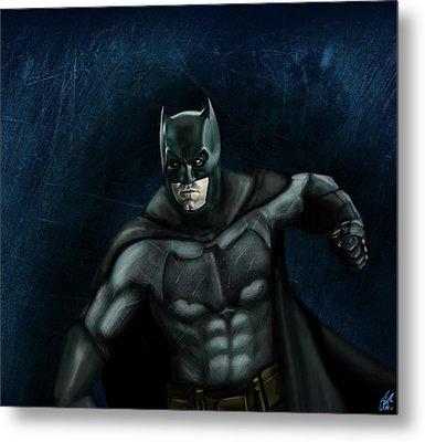 The Batman Metal Print by Vinny John Usuriello