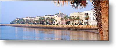 The Battery, Waterfront, Charleston Metal Print by Panoramic Images