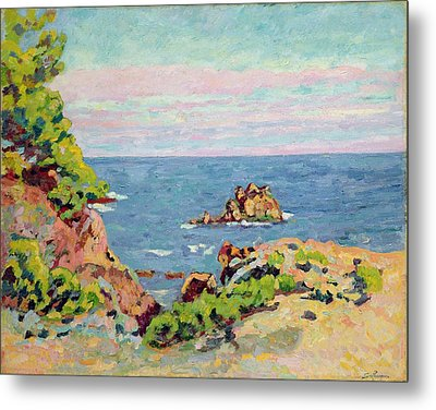 The Baumettes Metal Print by Jean Baptiste Armand Guillaumin
