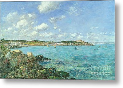 The Bay Of Douarnenez Metal Print