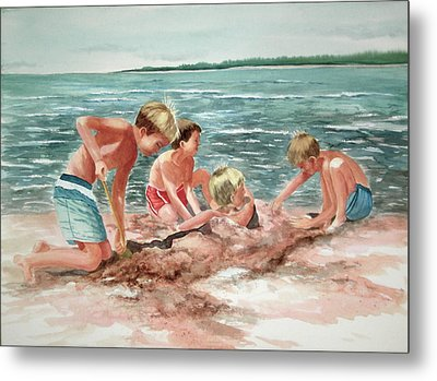 The Beach Boys Metal Print