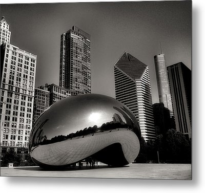 The Bean - 4 Metal Print by Ely Arsha