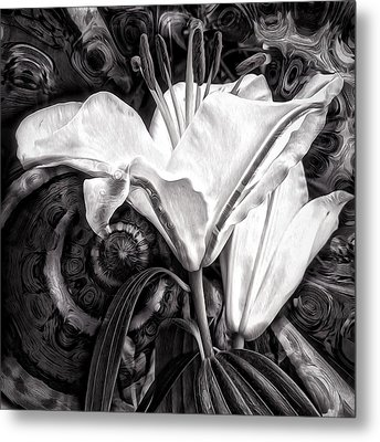 The Beast Metal Print by Gabriella Weninger - David