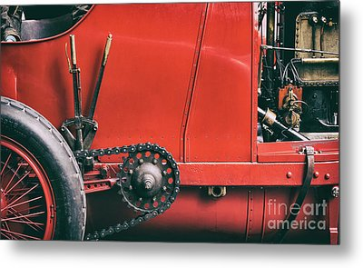The Beast Of Turin Abstract Metal Print by Tim Gainey