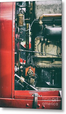 The Beast Of Turin Engine Metal Print by Tim Gainey