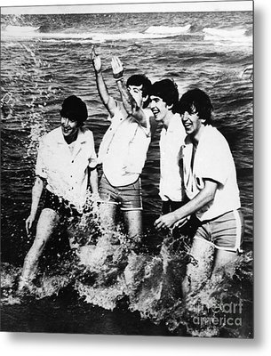 The Beatles, 1964 Metal Print