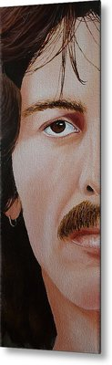 The Beatles George Harrison Metal Print by Vic Ritchey