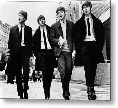 The Beatles Metal Print by Granger