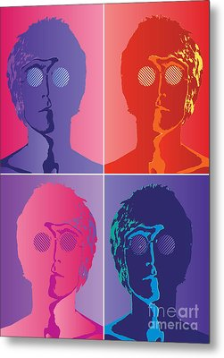 The Beatles No.10 Metal Print