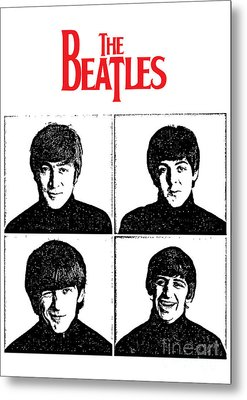 The Beatles No.12 Metal Print