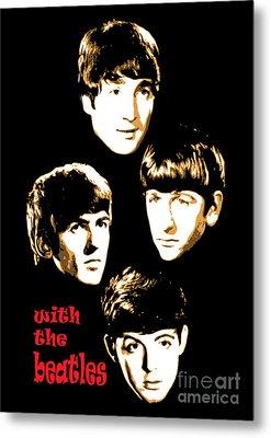 The Beatles No.20 Metal Print by Caio Caldas