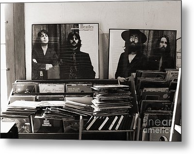 The Beatles Yesterday Metal Print by Anna Payne
