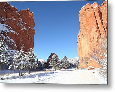 The Beautiful Gate Metal Print by Eric Glaser