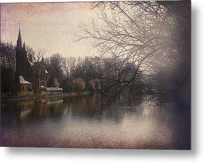 The Beauty Of Brugge Metal Print