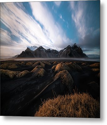 the Beauty of Iceland Metal Print by Larry Marshall